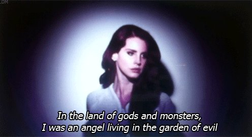 Lana del rey #gods and