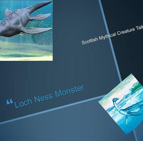 Ppt on loch ness monster ppt