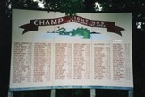 Champ sightings sign