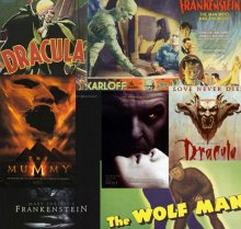 classic monsters header Classic Movie Monsters vs. Modern Movie Monsters
