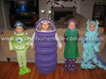 Coolest Monster's Inc Group Costume 8