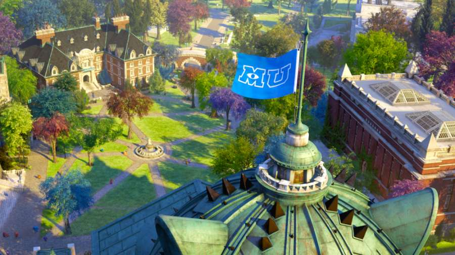 Monsters university full movie part 1 monsters the monsters university campus 2013 disneypixar all rights reserved voltagebd Image collections