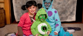 Boo Monsters Inc Toddler Costumes