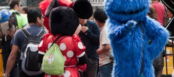 New York Cookie Monster arrested