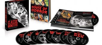 Universal Monsters on Blu Ray