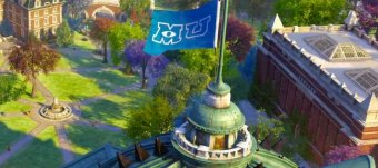 Where is Monsters University located?