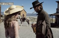 Mariana Hill and Clint Eastwood in High Plains Drifter (Photo: Warner Bros.)