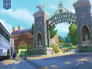 Mike arrives at Monsters U.