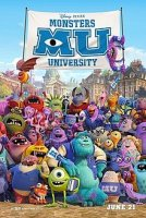 Monsters University promotional poster