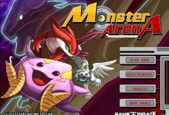 All monsters in Monster Arena