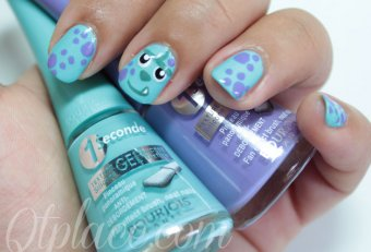 Easy Monsters Inc. Nails