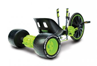 Green Monster Big Wheels