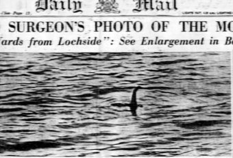 Loch Ness Monster Daily Mail
