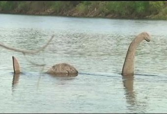 Loch Ness Monster found