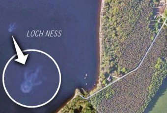 Loch Ness Monster from space