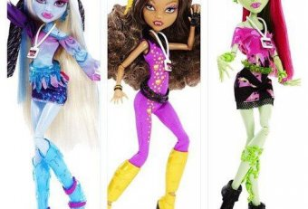 Monster High Music Festival Dolls