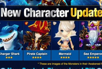 New Monsters Summoners War September 2015