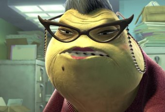 Office Lady Monsters Inc