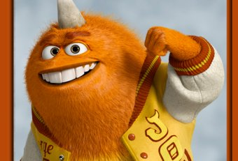 Orange guy in Monsters University