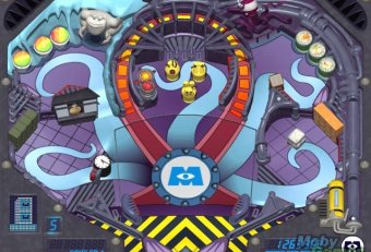 Pinball Panic Monsters Inc