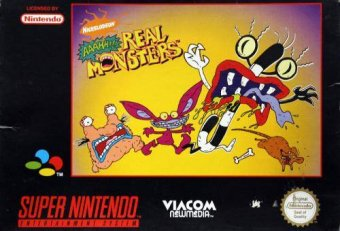 Real Monsters platform SNES