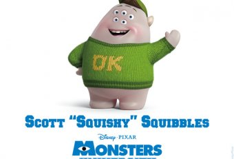 Squishy from Monsters University