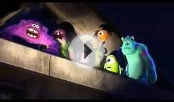 Best scene from Monsters University with Art. Monster Inc
