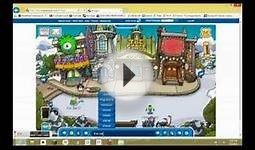 Club Penguin Monsters University Takeover Free Green One