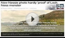 Do you believe! Loch Ness Monster, is photographed in Scotland