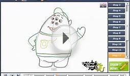 How to draw Scott Squishy Squibbles from Monsters University