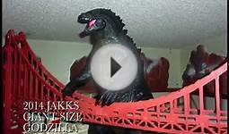 JAKKS Giant Size Godzilla vs 10 Other Monster-Sized Toys