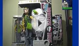 Monster High Jackson Jekyll Doll Unboxing & Review