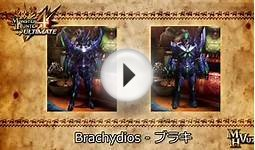 Monster Hunter 4 Ultimate - All Female Armor