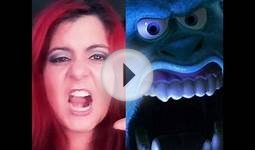 Monster INC. makeup tutotialSULLY