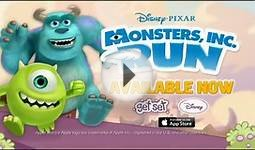 Monsters, Inc. Run Apps - Disney Channel Asia