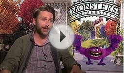 Monsters University Charlie Day talks about his crazy