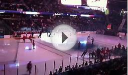 Owen with Lake Erie Monsters intro